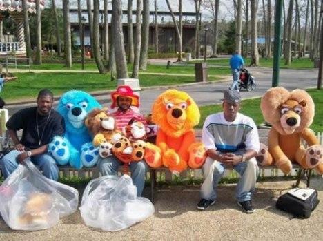 59 Amusement Park Prizes Represent