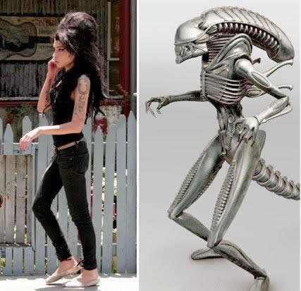 61 Amy Winehouse is an Alien
