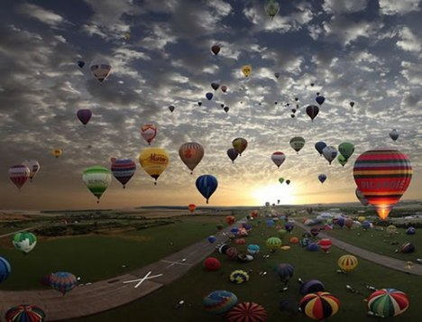 62 Air Balloon Convention