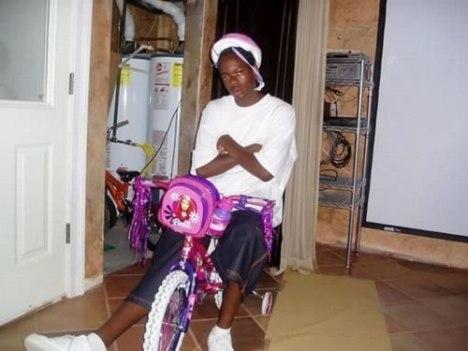 64 Barbie Bike Represent