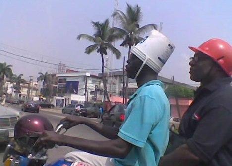 72 Poor Mans Helmet