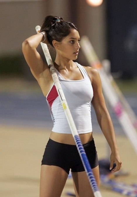 79 Looks Like Shes Pretty Good with a Pole