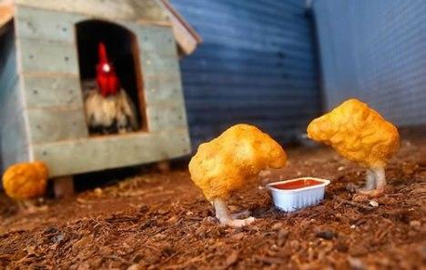 53 Free-Range Chicken McNuggets