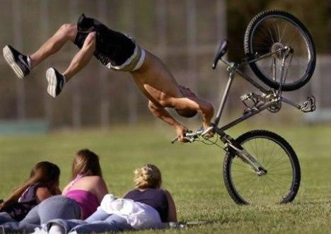60 bike fail