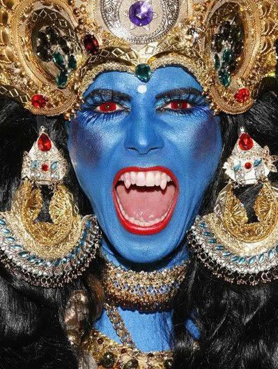 63 Heidi Klum as Kali