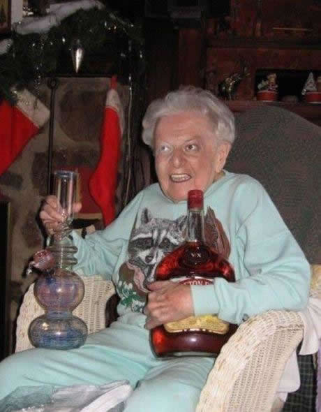 73 Grandma Parties Harder Than You