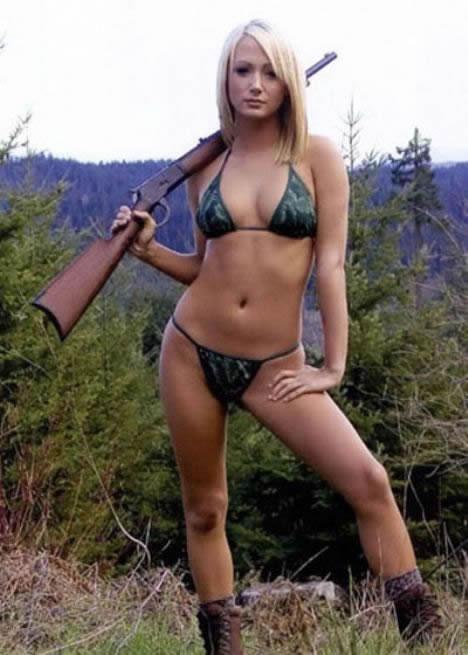 74 Growing Trend Women Hunting in Bikinis