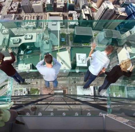 81 glass balcony