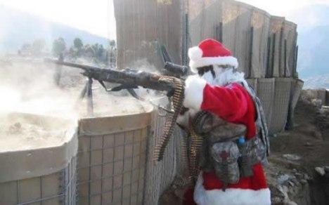 85 Santas Pissed