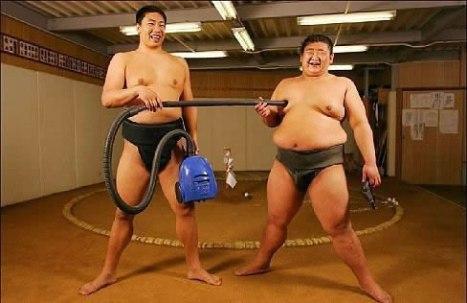 98 Unambitious Sumo Wrestlers