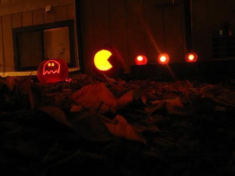 pacman-characters-pumpkin