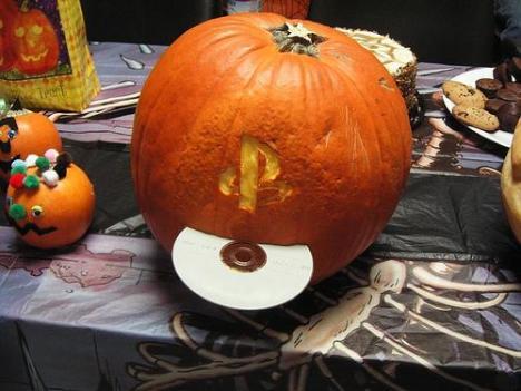 playstation-pumpkin-face