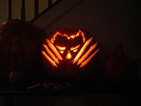 wolverine-pumpkin-face