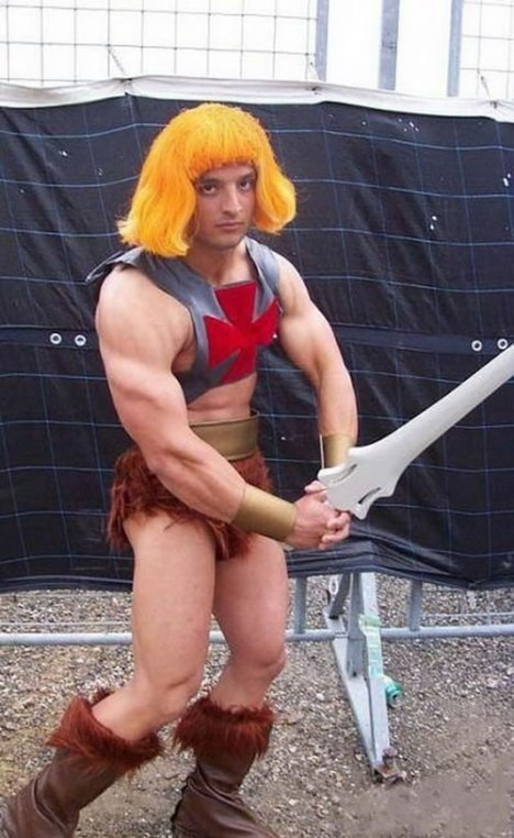 73 He-Man in the Flesh