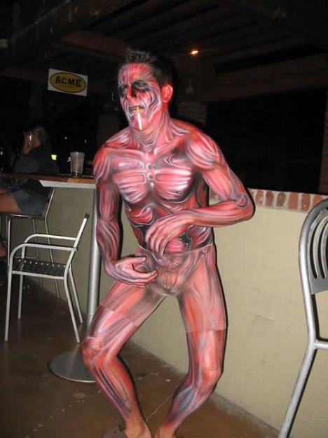78 Muscle Body Paint