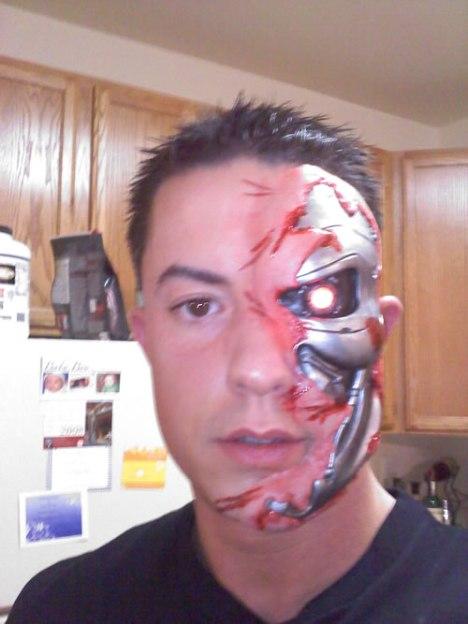 91 Terminator Face