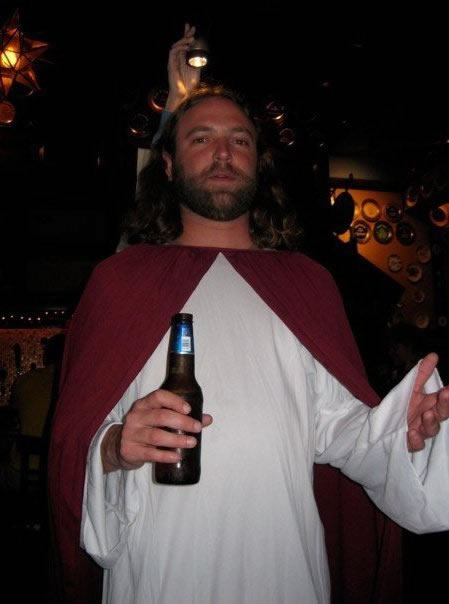 98 Jesus with a Beer